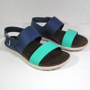 MERRELL Sandals Around Town Backstrap Leather SZ 6